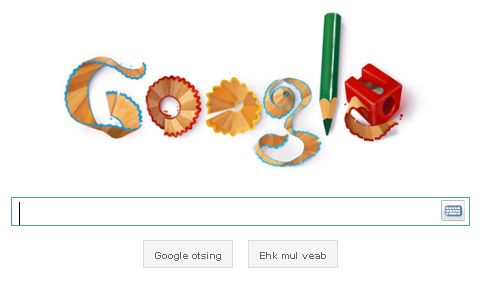 Google logo 1. septembril 2011